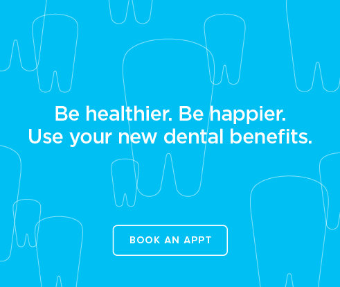 Be Heathier, Be Happier. Use your new dental benefits. - Sandy Modern Dentistry